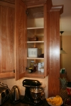 Kitchen- double entry cabinet