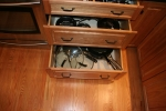 Kitchen- pullout drawer organizer