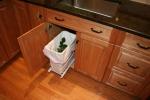 Kitchen- pullout trash