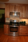 Kitchen- range and hood