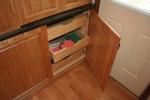 Kitchen- pullout shelves