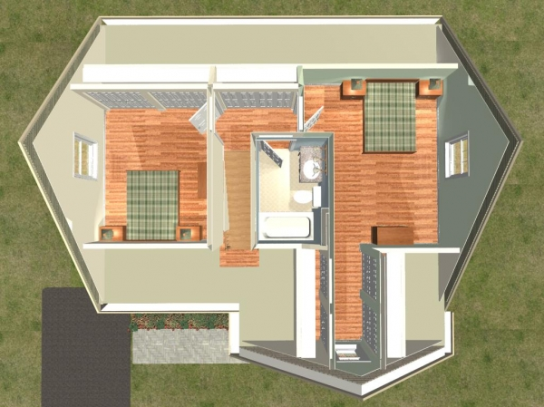 Photo gallery for Cape cod second floor plans