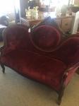 3/30/17 Victorian Love Seat $395