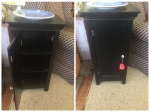 4/13/17 30-inch tall cabinet with 3 shelves $55