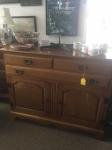 4/13/17 Sideboard Hutch $195