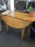 6/8/17 Drop Leaf Table $100