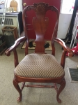 7/6/17 Queen Anne Splat-back Arm Chair (6) for $325