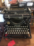 7/13/17 Vintage 1920s Underwood Typewriter $200