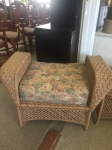 9/7/17 Rattan Ottoman included in full living room Rattan set for $595 24H x 36W x 20L