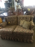 9/7/17 Flower Print Loveseat $150 29H 55W 38L