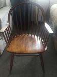 9/7/17 End Chair (goes with dining table) 35H 23W 22L