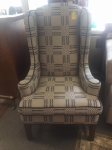 9/21/17 Wing-back chair $225 46H 27W 29L