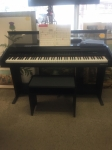 10/19/17 Digital Piano w/Seat + work books $395- PIANO: 40Hx54Wx21L - SEAT: 19Hx23Wx12L