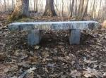 Large Natural Bench