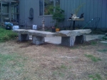 Large Natural Benches