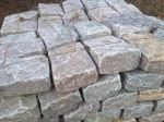 Pallet of Jumbo Pink Cobbles  11