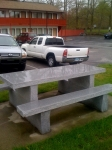 Custom Salt & Pepper picnic table