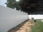 8' / 6' high  privacy pvc