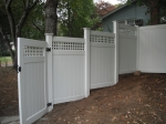 Stepped pvc panels