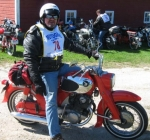 Honda 305 Dream at the moto giro east in Vermont 2009