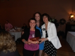 Day Services Achievement Winner Shana with Day Services Director Colleen and Executive Director Susan Desrosiers.