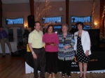 The 2013 Norma Cassettari Award Winner Ann Tetreault with Gene Michael Deary, Linda Lamoureux and Susan Desrosiers.