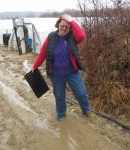 Not everything at the farm is glamorous. We sometimes get a tad dirty :)